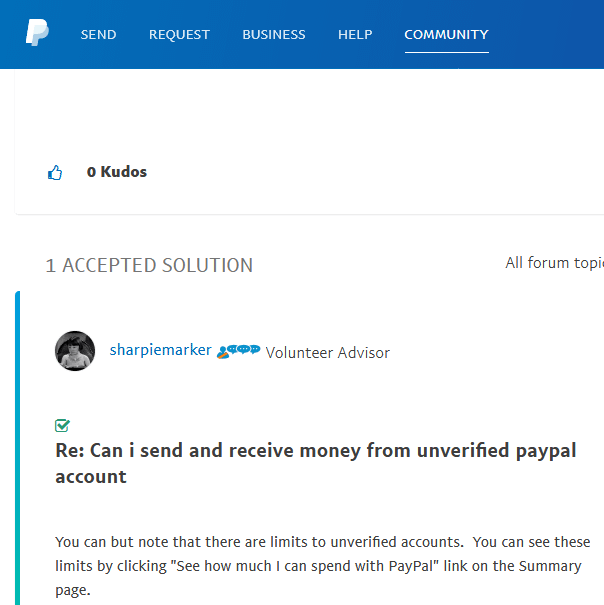 Send and Receive PayPal Payments