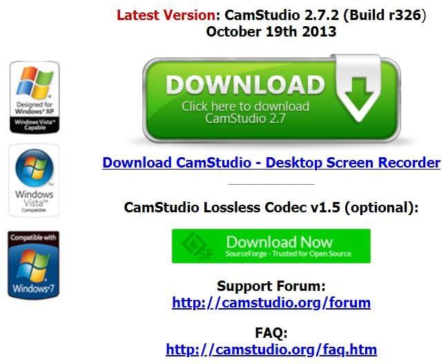 CamStudio App