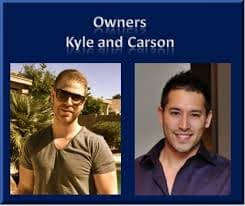 Kyle and Carson; the Co-Founders of WA