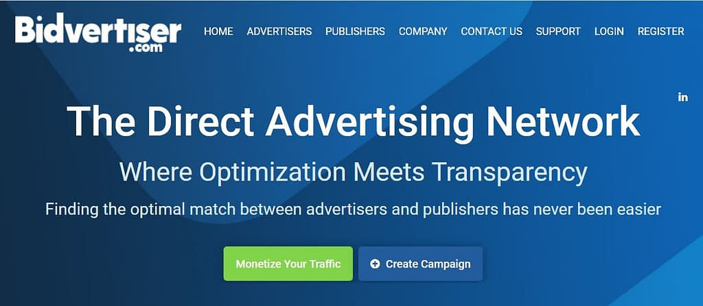 Bidvertiser Network