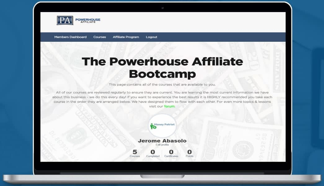 Powerhouse Affiliate Bootcamp