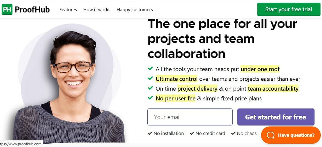web-based project management solution
