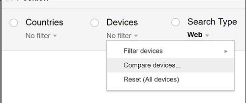 Top Mobile SEO: Google Search Console - compare-devices