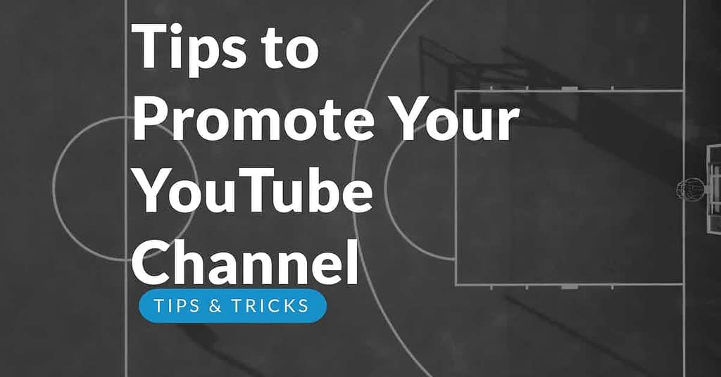 Promote your YouTube channel