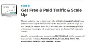 Get paid and free traffic & scale up